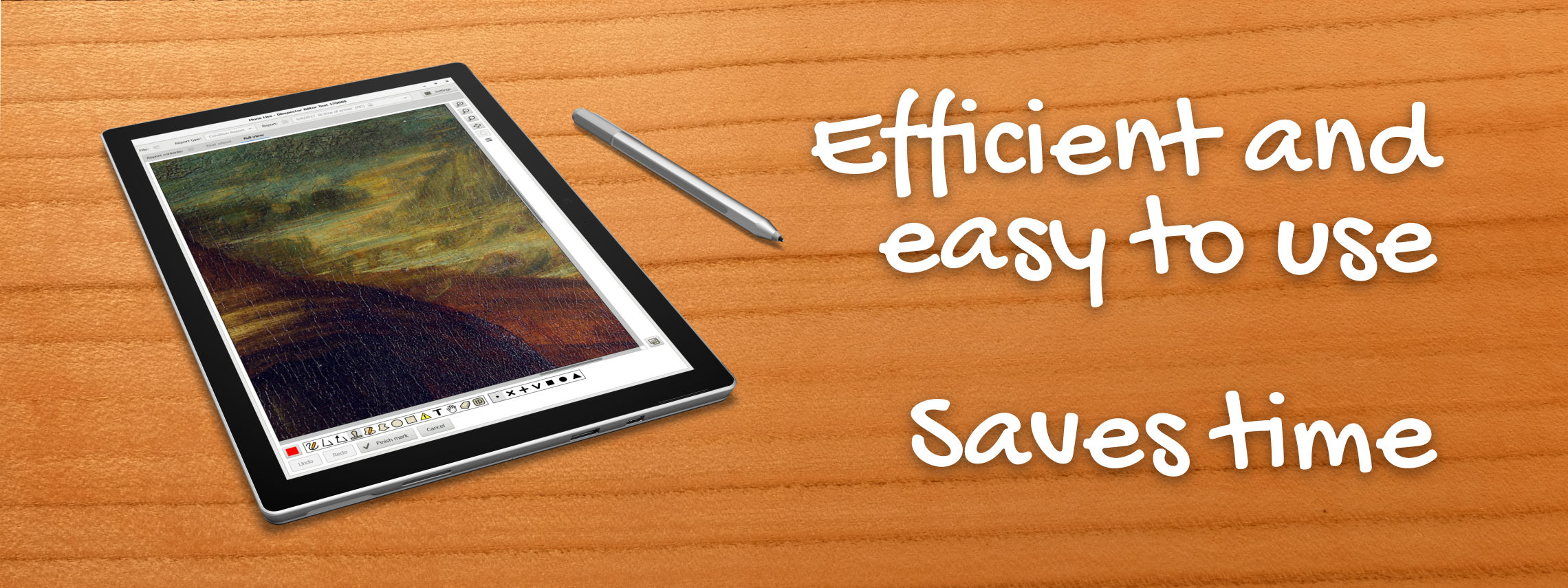 Efficient and easy to use. Saves time.